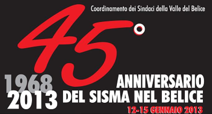 45°anniversario terremoto 1968: diverse celebrazioni nei centri belicini
