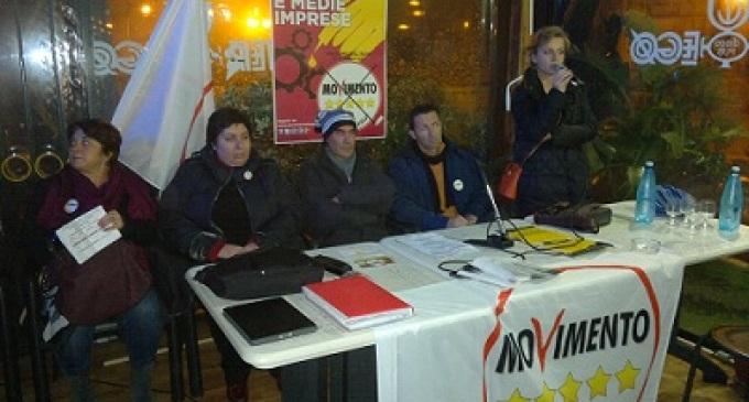Partanna:  I candidati alla Camera e al Senato del Movimento Cinque Stelle incontrano i cittadini