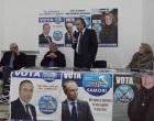 Partanna: manifestazione elettorale del MIR (Moderati in Rivoluzione)