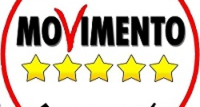 Partanna: comizio elettorale del Movimento Cinque Stelle