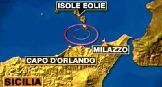 Messina: scossa di terremoto nelle isole Eolie