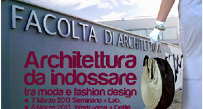 """Lo stilista Fabrizio Artale in """"Architettura da indossare""""  tra moda e fashion design"""