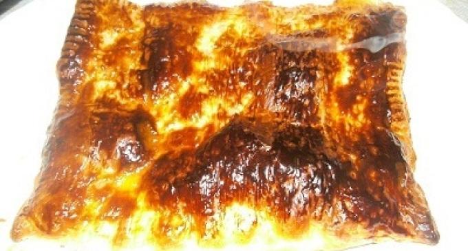 …Le Delizie del Palato: Torta di sfoglia con prosciutto e mozzarella