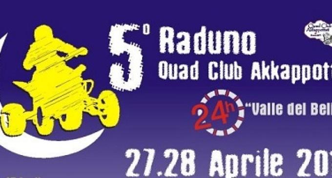 Partanna: il Club Akkappottati organizza il 5° Raduno Nazionale Quad