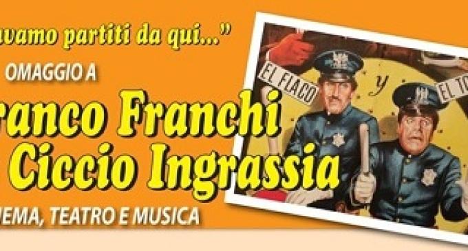 Castelvetrano: al Teatro Selinus l'omaggio a Franco Franchi e Ciccio Ingrassia