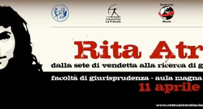 """Presentazione dell'opuscolo """"Rita Atria- Dalla sete di vendetta alla ricerca di giustizia"""""""