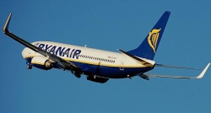 Provincia: Ryanair festeggia l'estate con nuovi voli da Trapani