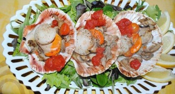 """""""…le delizie del PaLato"""": Capesante ai funghi"""