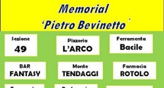 """Partanna: domenica 2 giugno il memorial """"Pietro Bevinetto"""""""