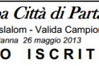 Elenco iscritti 20^ Coppa Città di Partanna
