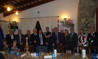 I Sindaci della valle del Belice alla cena di gala tra Selinunte ed Aquileia