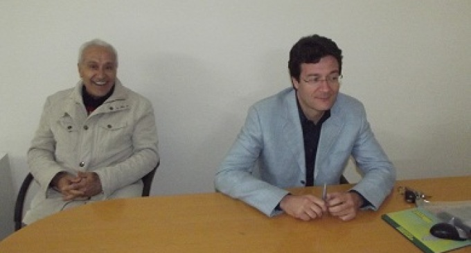 Partanna-elezioni amministrative: il candidato Dino Mangiaracina incontra i cittadini nella sezione UIL