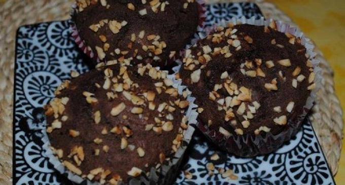 """""""…le delizie del PaLato"""": Muffins al cioccolato e nocciole"""