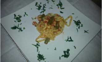 …Le Delizie del Palato: Pasta fresca con pesce spada, asparagi e pomodorini