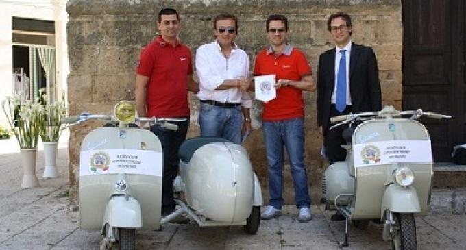 Castelvetrano: Sindaco e vice-sindaco soci onorari del Vespa Club