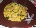 """""""…le delizie del PaLato"""": Risotto zucchine, salsiccia e zafferano"""