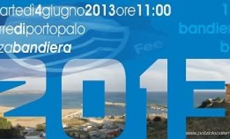 """Menfi: cerimonia ufficiale di """"Alzabandiera Blu"""" presso la Torre di Porto Palo"""