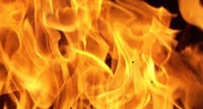 Castelvetrano: incendio danneggia terreno confiscato alla mafia