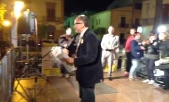Partanna: replica del comizio del candidato sindaco Giovanni Inglese