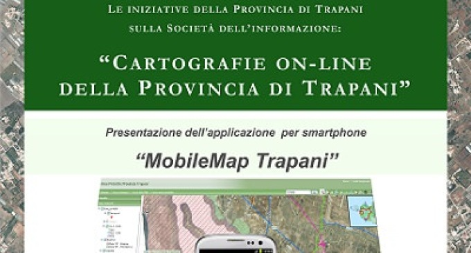 "Trapani: è in arrivo ""MobileMap Trapani"""