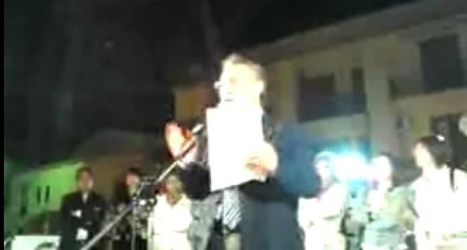 Partanna: replica del comizio del candidato sindaco Nicola Catania