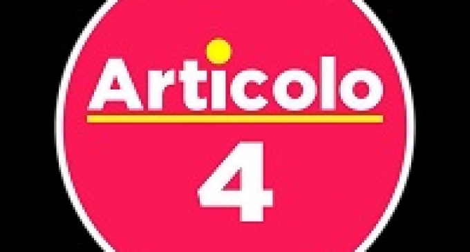 """L'Ass. Menfi Adesso Aderisce ad """" ARTICOLO 4 """""""