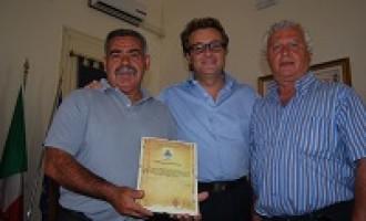 Castelvetrano: il Sindaco Errante consegna un pubblico encomio ad un cittadino