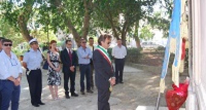 Castelvetrano: il Sindaco Errante presente alla commemorazione per Paolo Borsellino