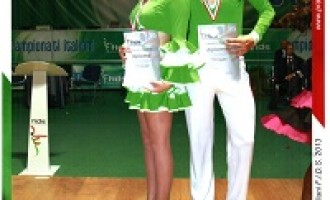Alcamo: il Sindaco Boventre si congratula con gli atleti alcamesi premiati per la danza caraibica