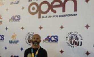 Il Maestro Davide Cialona conquista l'argento ai campionati europei di Brazilian Jiu Jitsu a Roma