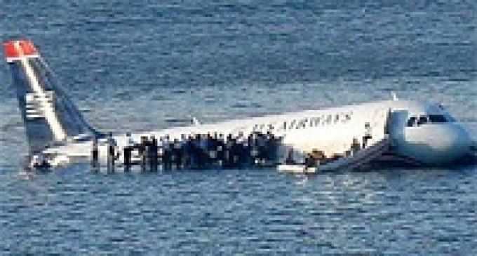 Trapani: simulato incidente aereo in mare