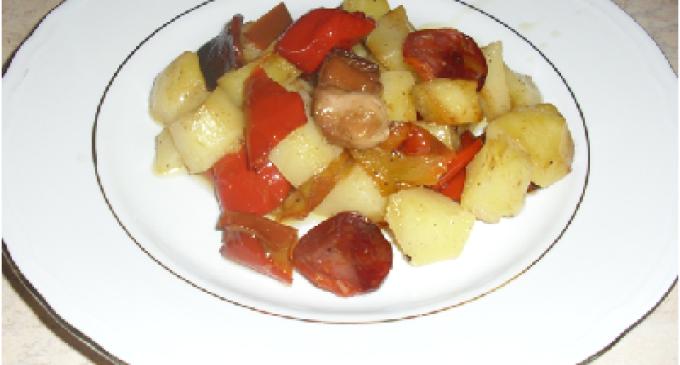 …Le Delizie del Palato: peperoni e patate piccanti