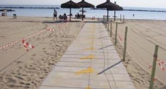 Collocate le passerelle per diversamente abili sulle spiagge di Triscina