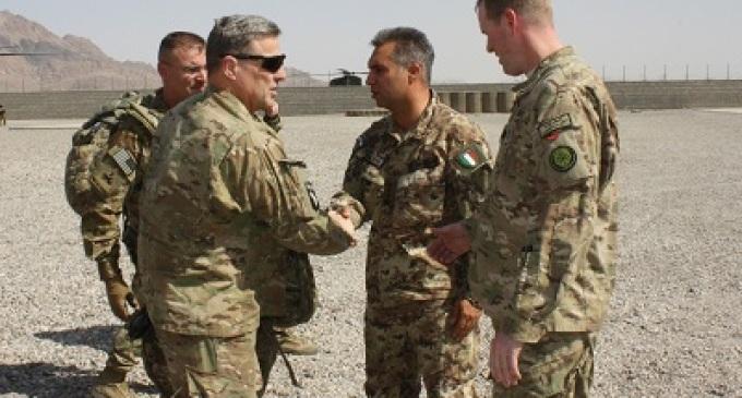 Afghanistan: il comandante dell'ISAF Joint Command visita la TSU-S di Fara