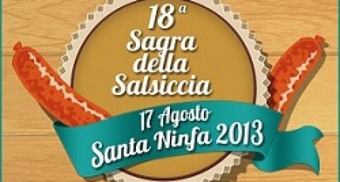 """Santa Ninfa: XVIII edizione della """"Sagra della Salsiccia"""""""