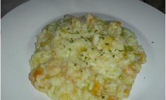 …Le Delizie del Palato: risotto con fiori di zucca e gamberi