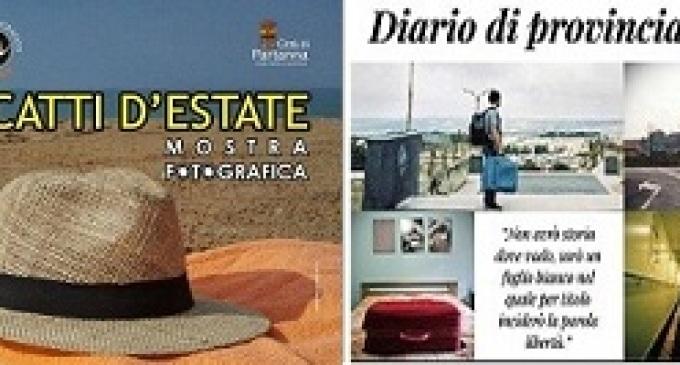 Partanna: al Castello Grifeo Scatti d'Estate e Diario di Provincia