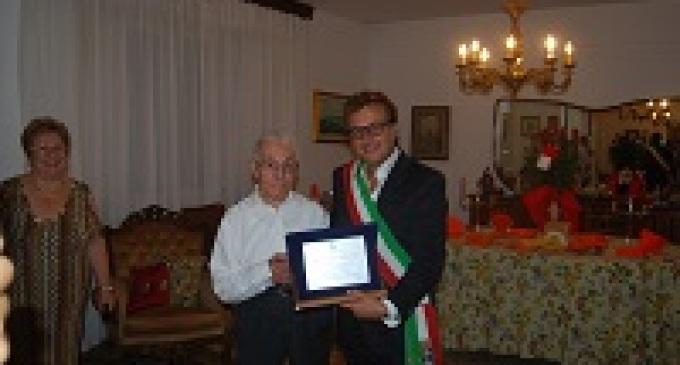 Castelvetrano: il Sindaco festeggia i cento anni di Andrea Palermo