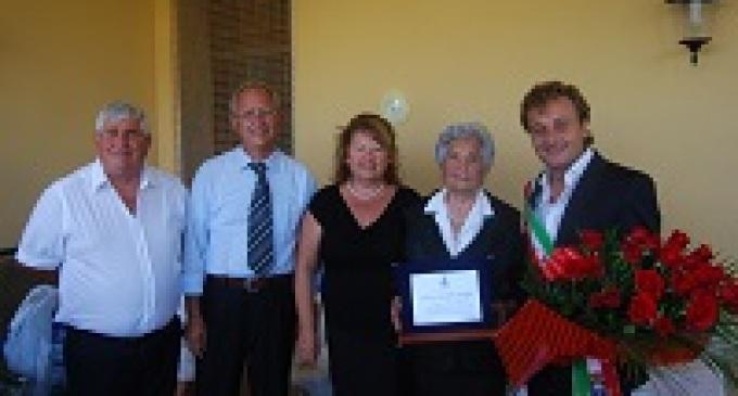 Castelvetrano: il Sindaco festeggia i cento anni di Giuseppa Maggio