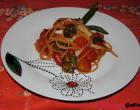 """""""…le delizie del PaLato"""": Spaghetti integrali con pomodorini, peperoni verdi e Montasio"""