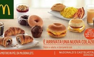Vi ricordiamo che il buongiorno si vede ancora da McDonald's!! [STAMPA IL COUPON]