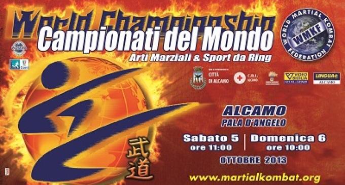 Ad Alcamo vanno in scena i campionati del mondo di arti marziali e sport da ring