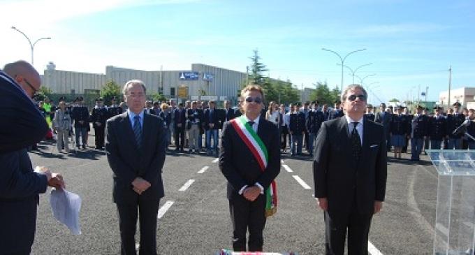 Castelvetrano: inaugurato il viale Antonio Manganelli