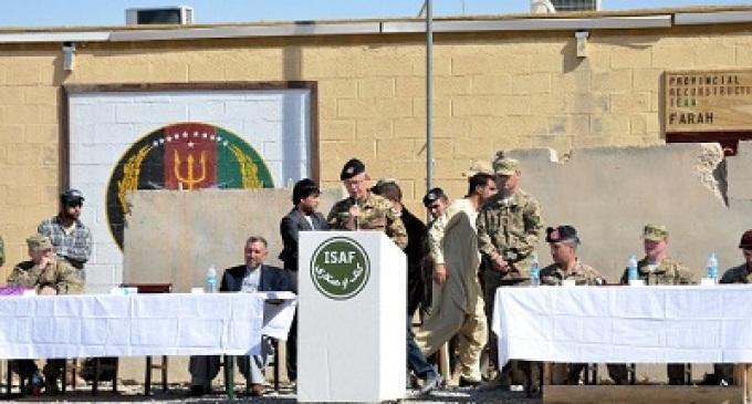 Afghanistan: chiude la Base Operativa Avanzata di Farah