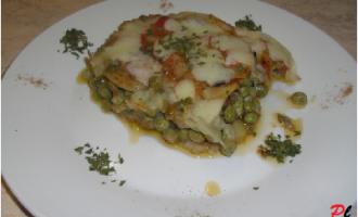 …Le Delizie del Palato: sformato di melanzane, piselli e patate