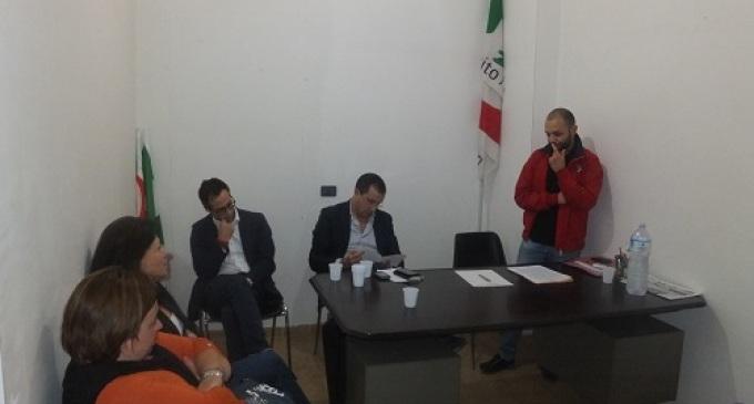 Partanna: Spezia e Campagna incontrano dirigenti e sostenitori del PD, domenica  il voto