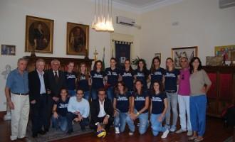 Castelvetrano: il sindaco incontra la squadra di volley femminile