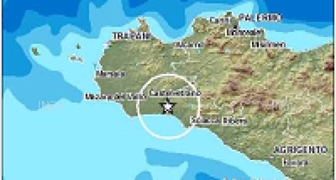 Scossa di terremoto magnitudo 2.0 nella Valle del Belice