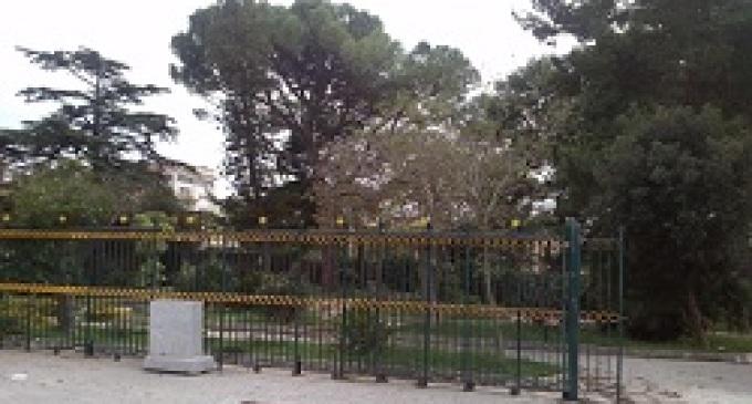 Partanna: restyling della Villa Rita Atria