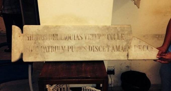 Castelvetrano: importante scoperta del prof. Francesco Saverio Calcara